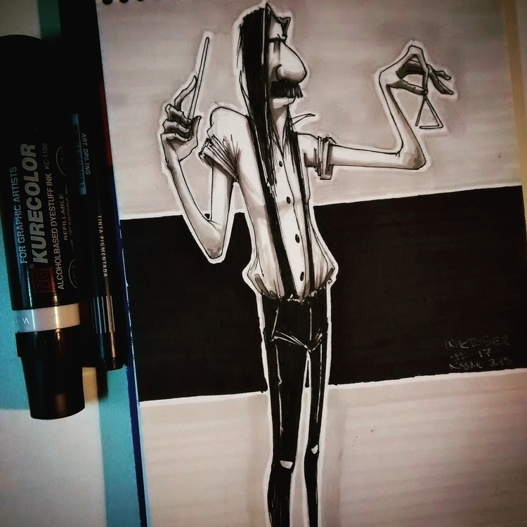 inktober17 - illustration, painting - nachissimo | ello