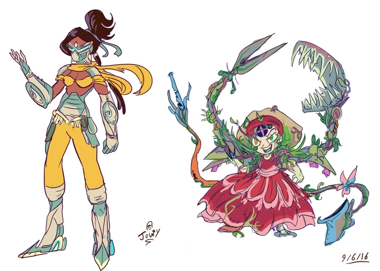 character sketches 9/6/16 - characterdesign - jowybeanstudios | ello