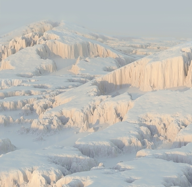 Glacier - 3dart, cgi, terrain, snow - scottwulf | ello