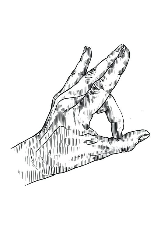Mudra 14 - illustration, conceptart - martinadirce | ello