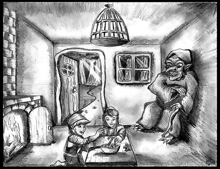 Hanzel Gretel sketch - illustration - wilkinso-5391 | ello