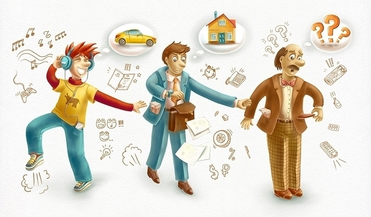 loan - dream, money, oldman, man - dinkoobraz | ello