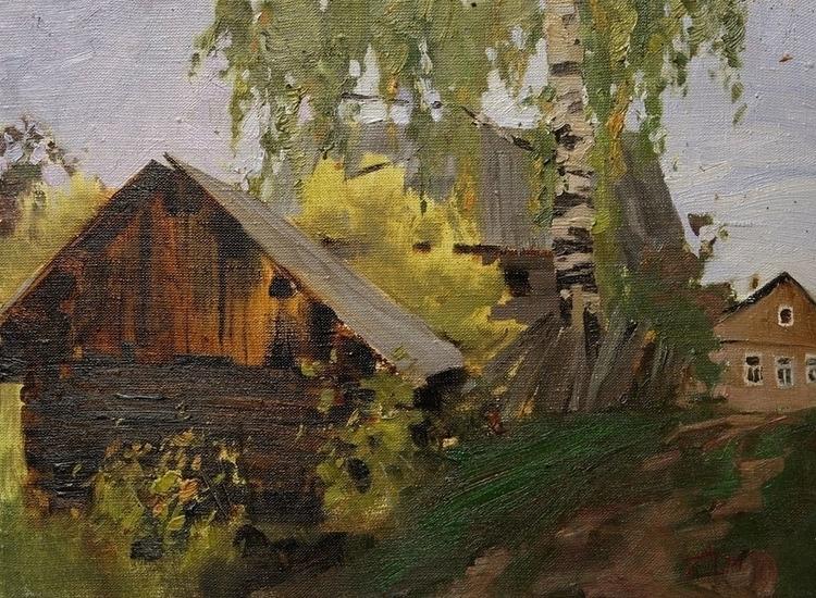 painting, drawing, landscape - aleksei-4241 | ello