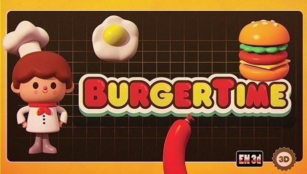 burger time - burgertime, arcade - cecymeade | ello
