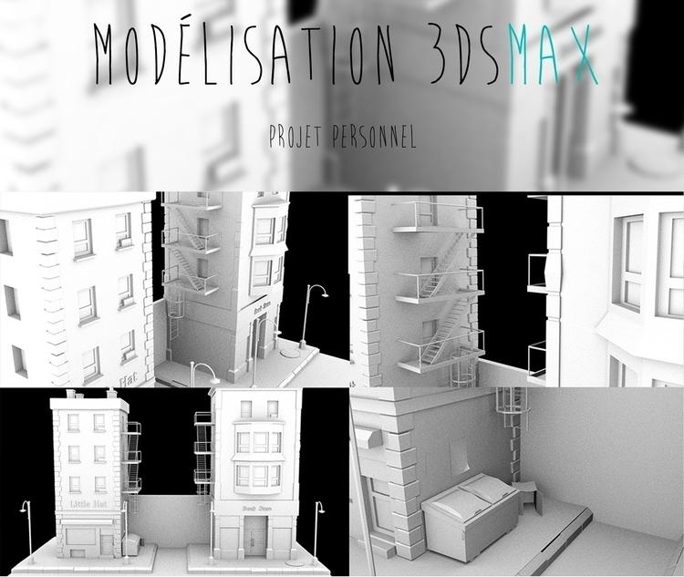 Modeling buildings personal pro - maximebugman | ello