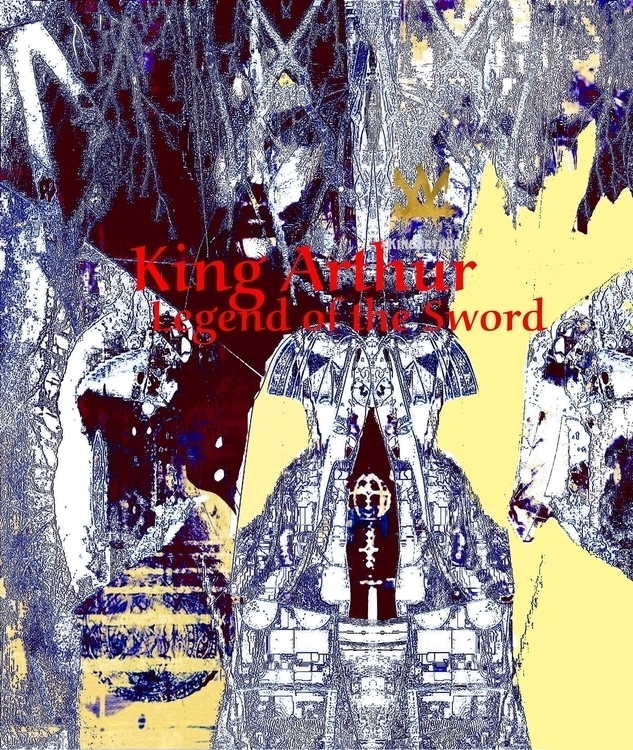 King Arthur - illustration, posterdesign - dizwhi | ello