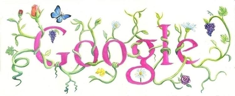 Google Doodle - google, googledoodle - violetskyart | ello