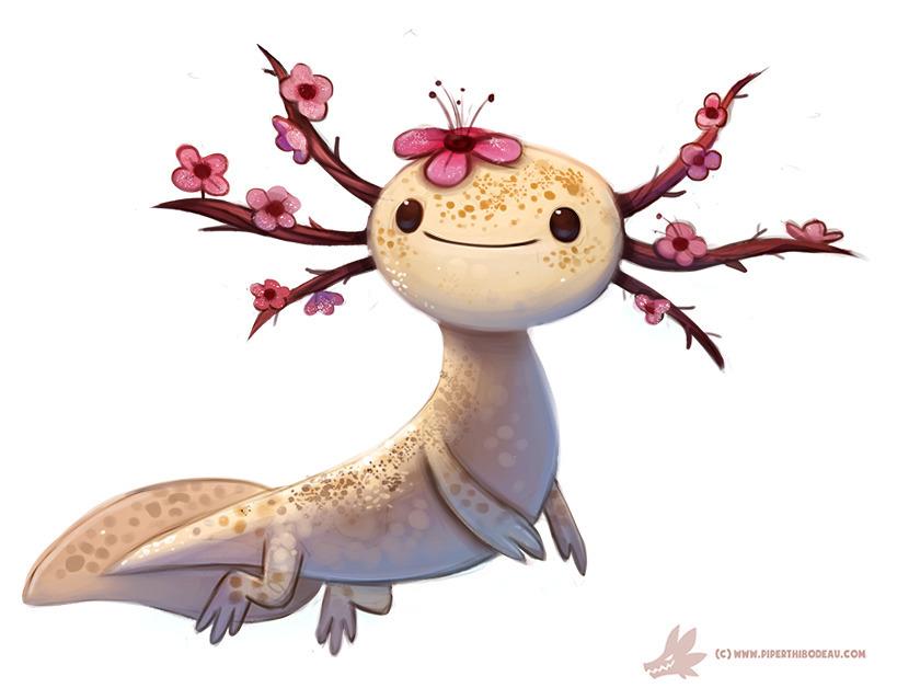 Daily Paint Blossom-lotl - 1107. - piperthibodeau | ello