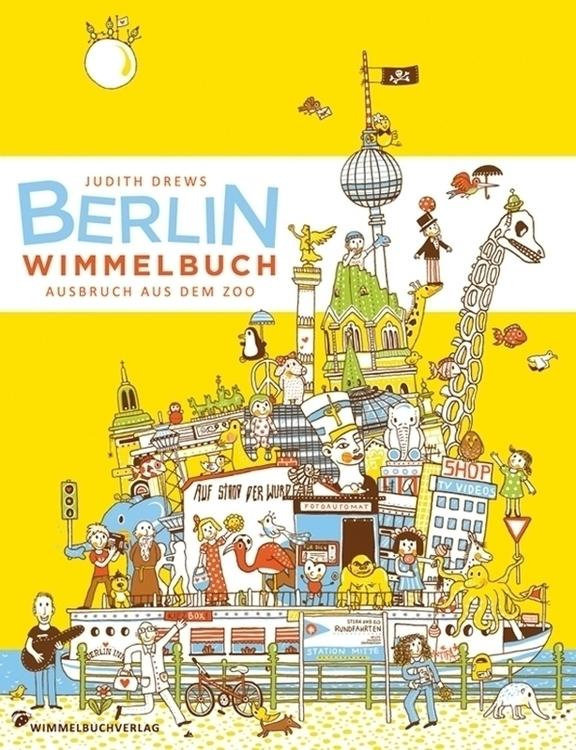 find book berlin - illustration - jd-1176 | ello
