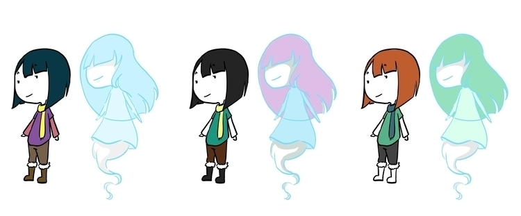 Mila Lei color studies - characterdesign - fishfranqz | ello