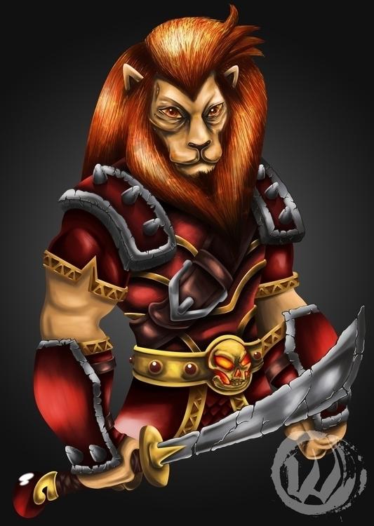 Zodiac: Leo character design mo - wlmar | ello