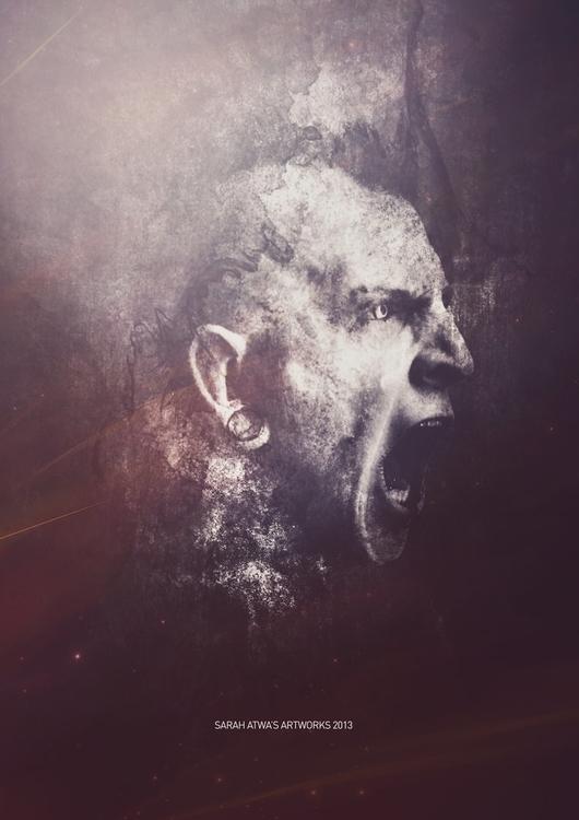 SCREAM - digitalart, photomanipulation - redmarker2611 | ello