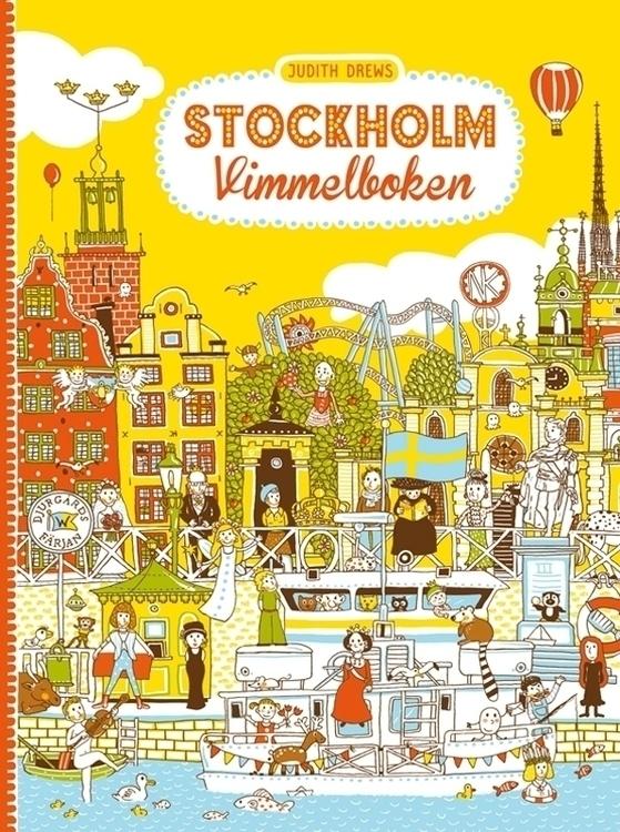 find book Stockholm - lookandfind - jd-1176 | ello