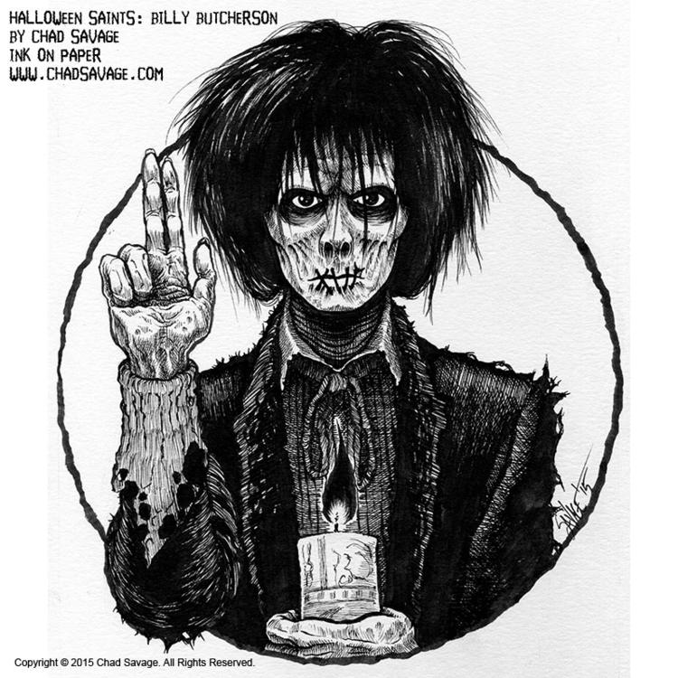 Halloween Saints: Billy Butcher - chadsavage-9708 | ello