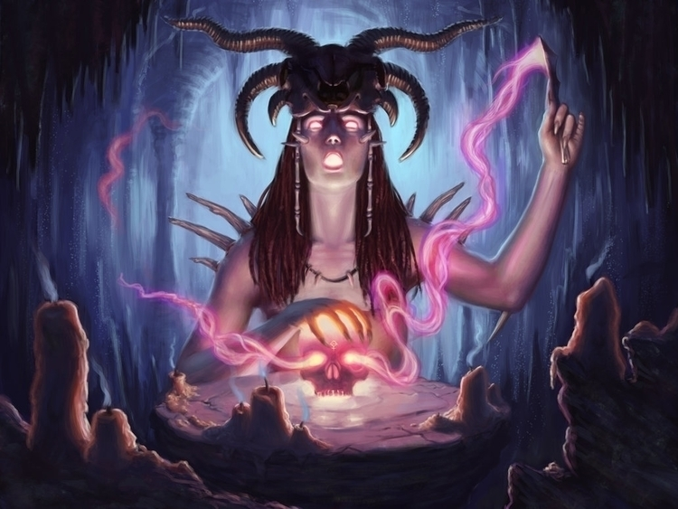 Dark Rites - ritual, fantasy, skull - tobba | ello