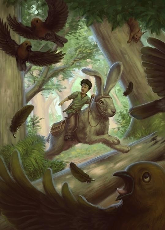 Big Adventure - Book Cover - bird - tobba | ello
