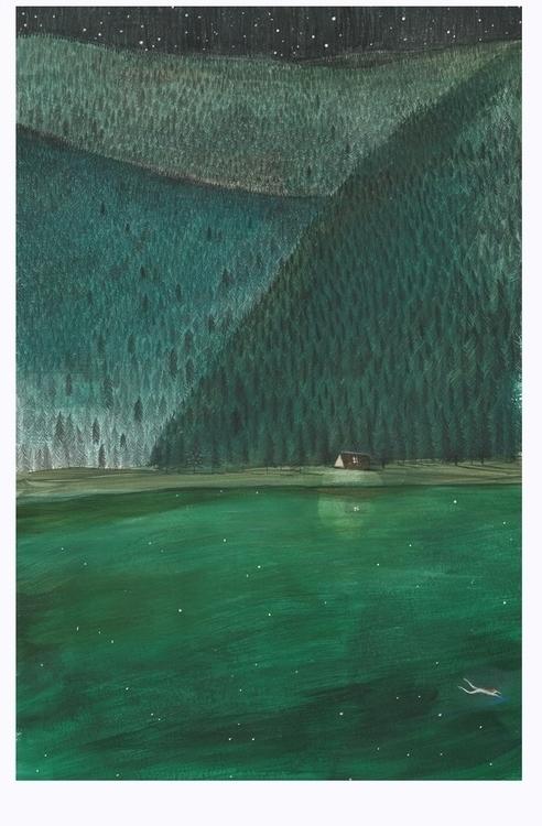 Dark seasons swiming nights - fabianabocchi | ello