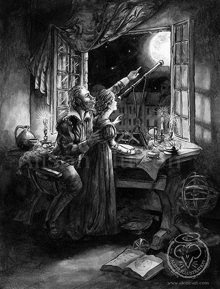 Daughter - illustration, kidlitart - aleneart | ello