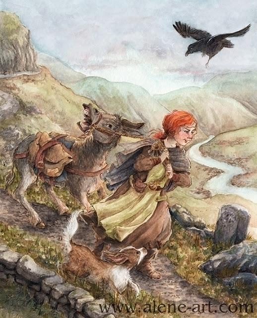 Quest - illustration, animals, kidlitart - aleneart | ello
