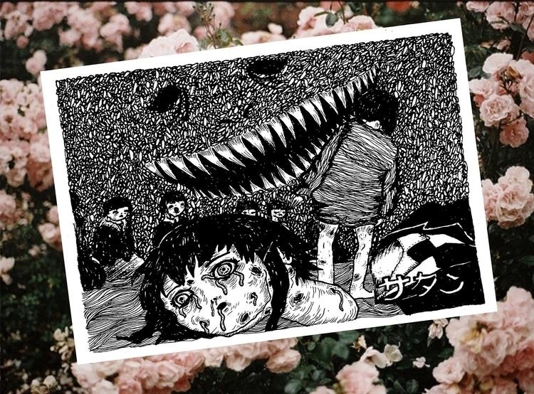 serial experiments lain - animeart - venganza_de_samael | ello