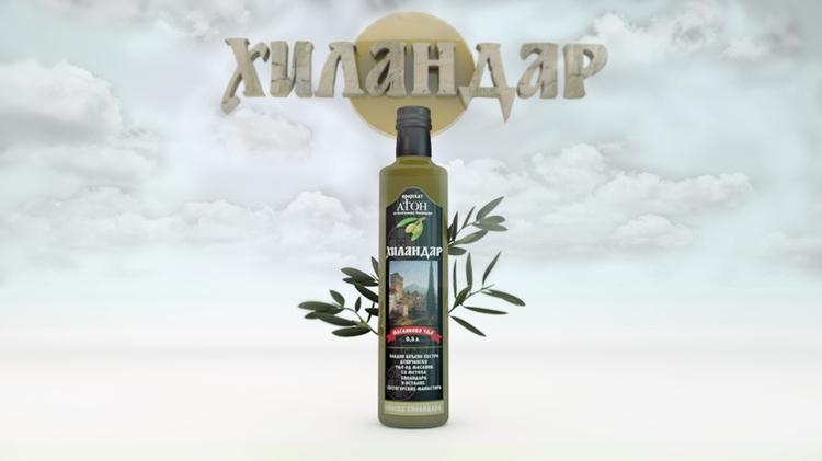 Hilandar olive oil - #product#productdesign#concrete#toys#craft#design#pack#packaging#metal - elgoran | ello