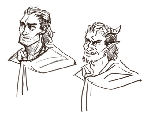 sketch, conceptart, characterconcept - mernolan | ello