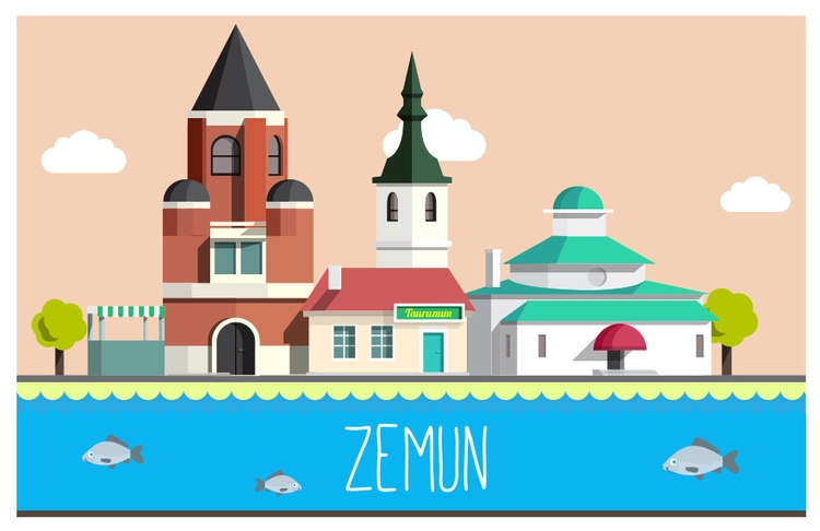 love Zemun - illustration, #purevector - elgoran | ello