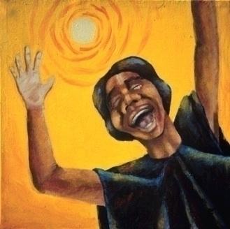 Joy - Acrylic Canvas - illustration - bkthompson   ello