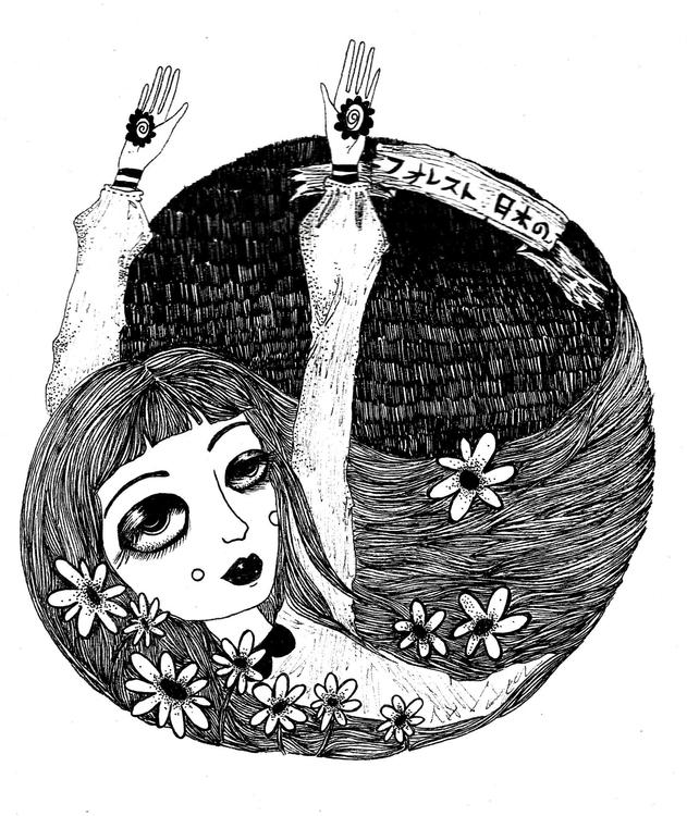 blackandwhite, sad, sleeping - venganza_de_samael   ello