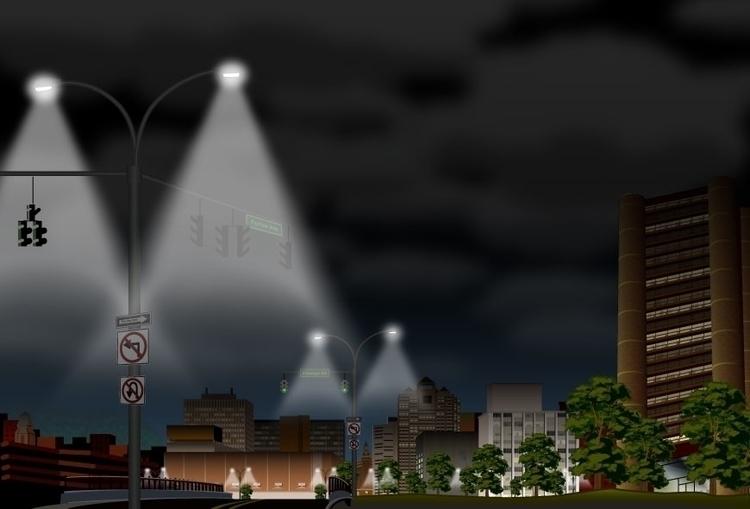 Elm City Green - Digital Adobe  - bkthompson | ello