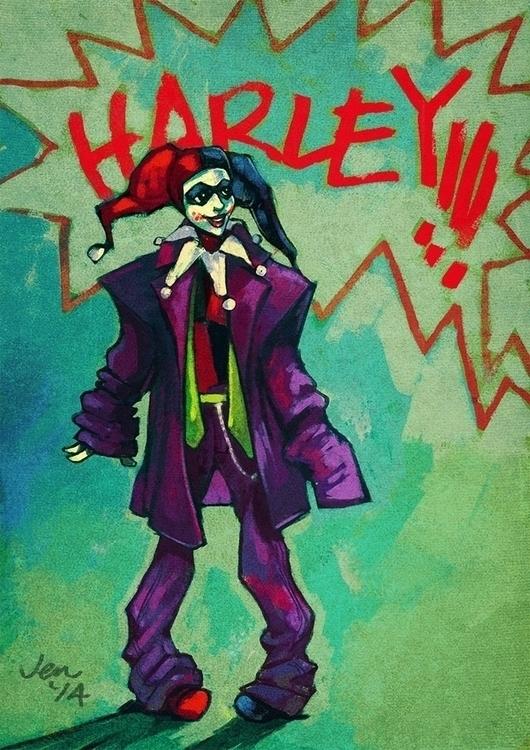 Harley Joker - estirdalin | ello
