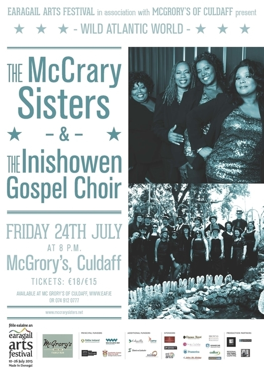 McCrary Sisters Poster Earagail - stephencunniffe | ello