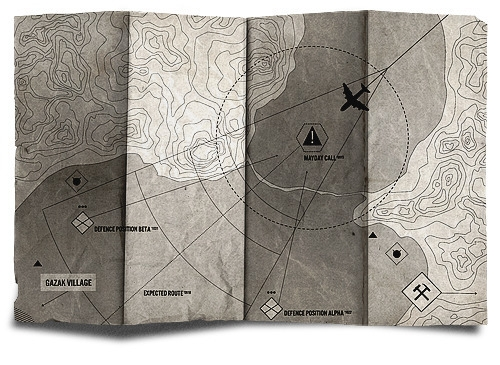 map, illustration, war, military - ryanshelton-1264 | ello