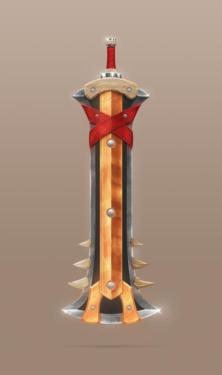 Monster Slayer Sword. drawn par - devinhansen | ello