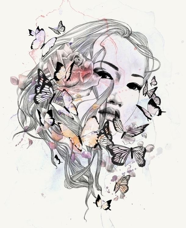 Morpheus - natureburst, drawing - csangal | ello
