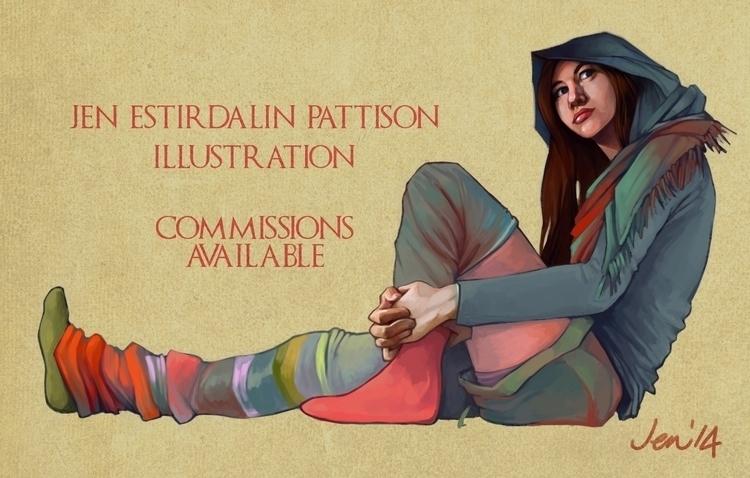 Commissions promo image - estirdalin | ello