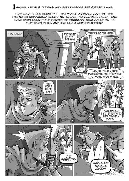 Portent Chapter 1 - Page 1 - portent - seecarladraw | ello