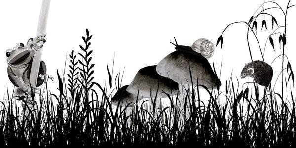 watercolour, illustration, natur - robincottage   ello