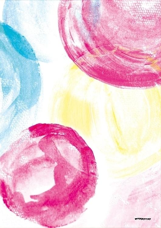 BALLONS - color, collage, aquarelle - floriane-9695 | ello
