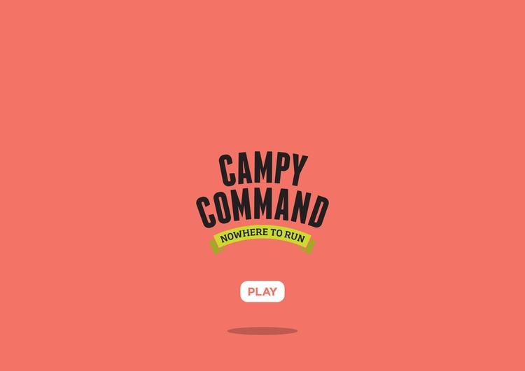 Campy Command Title Screen - illustration - miruku3d   ello