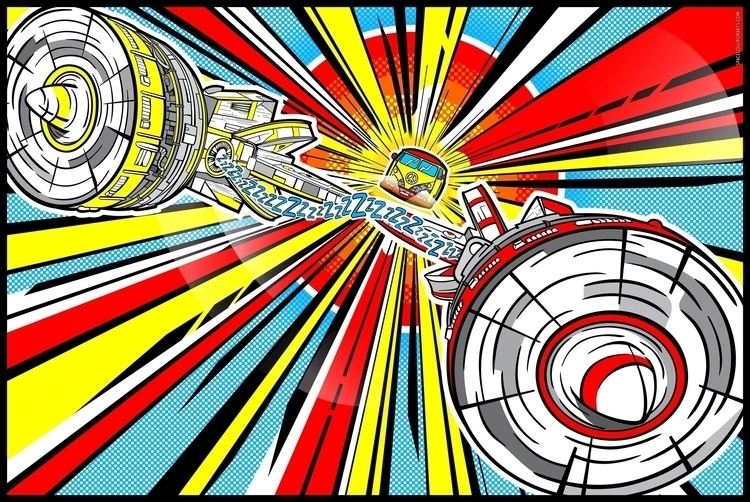 Star Wars Pop Art - Peace Pod R - bergie81 | ello