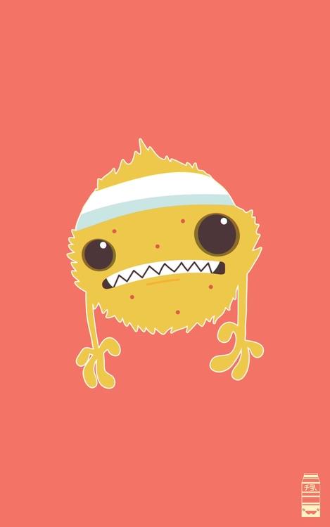 Campy Command Enemy Character - illustration - miruku3d   ello
