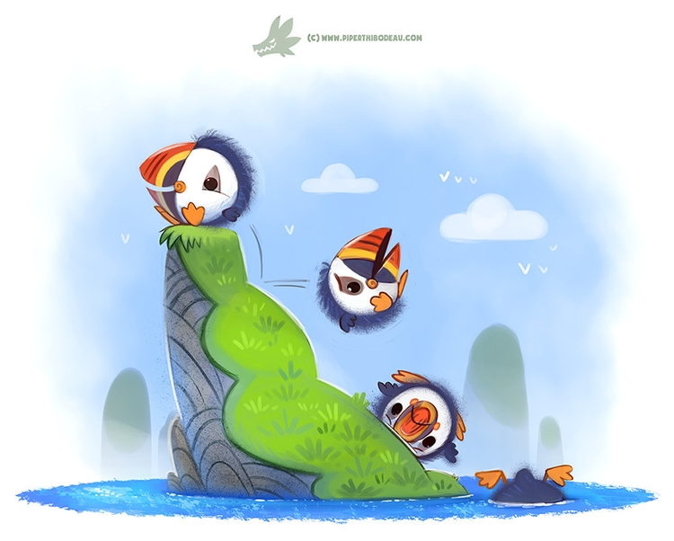 Daily Paint Poofins - 1193. - piperthibodeau | ello