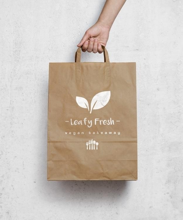Leafy Fresh - Vegan Takeaway - branding - seanfinlay_ | ello