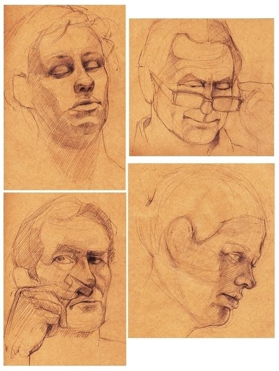 25 minute portrait collection - estirdalin | ello