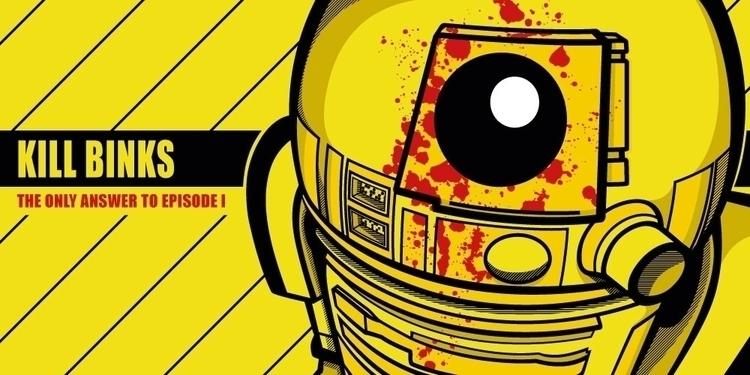 Pop Art Mashup - Star Wars Kill - bergie81 | ello