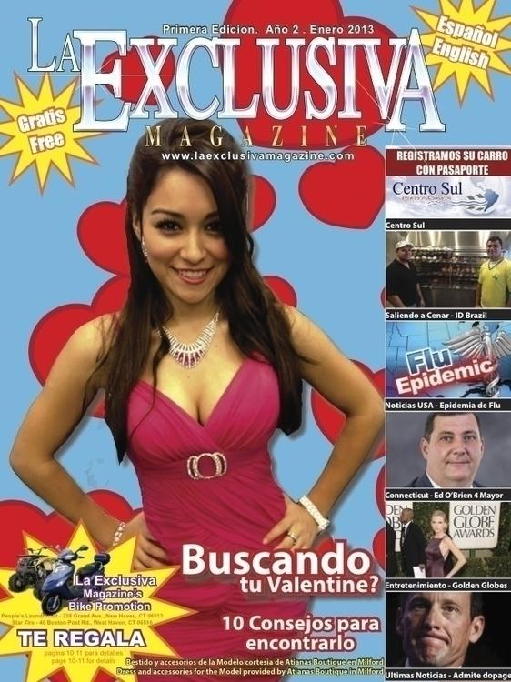 La Exclusiva Magazine - graphicdesign - bkthompson | ello
