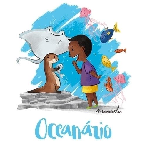 Oceanário / Aquarium. Objecto t - marymorais | ello