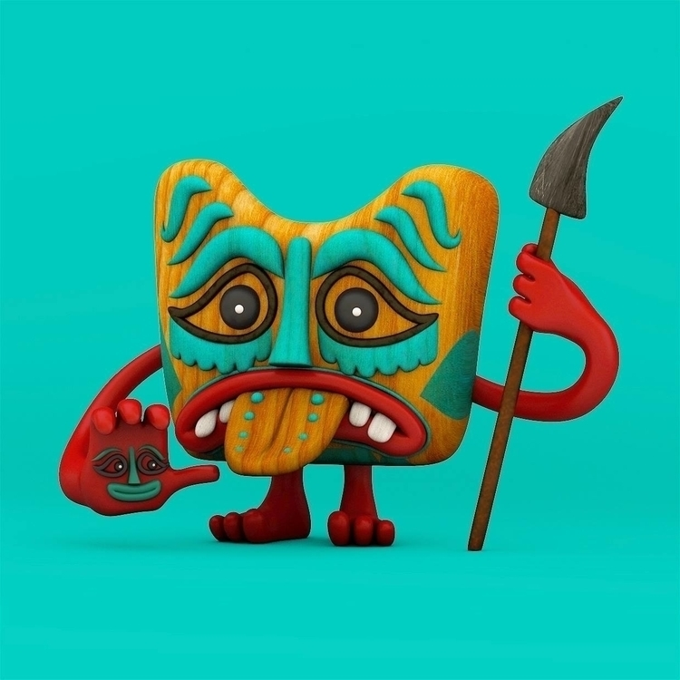 test - illustration, characterdesign - josephlattimer | ello