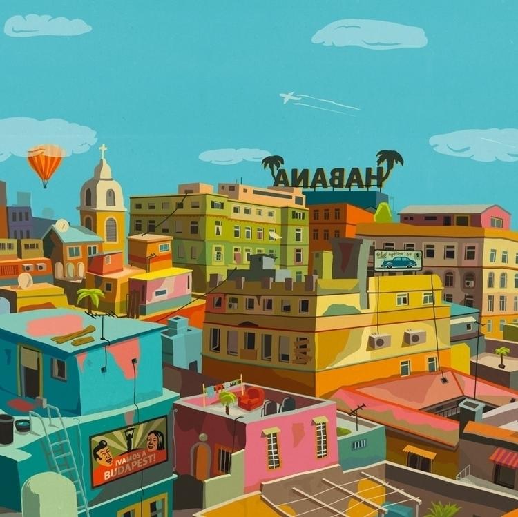 Habana - habana, cuba, city - zsoltvidak | ello